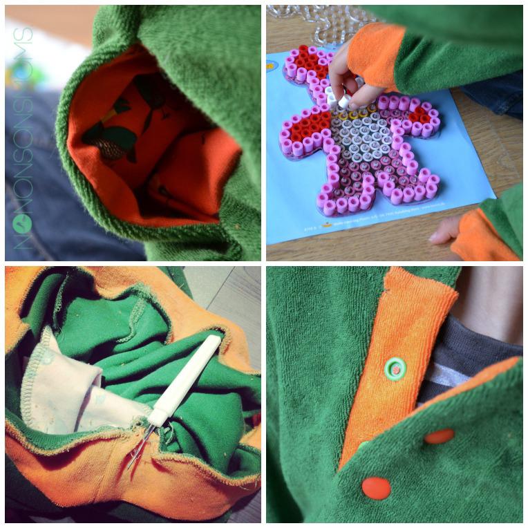 lewis hoodie details