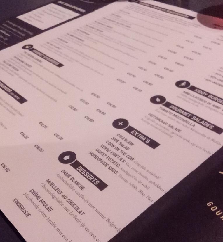 menukaart def