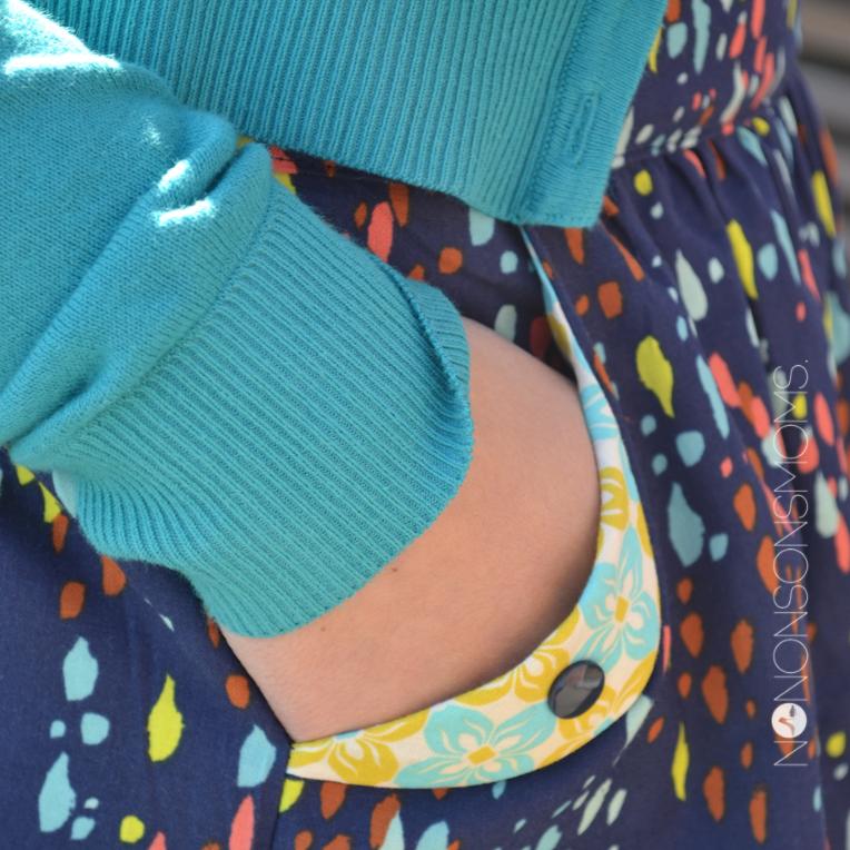 Lotta Skirt compagnie M detail zak