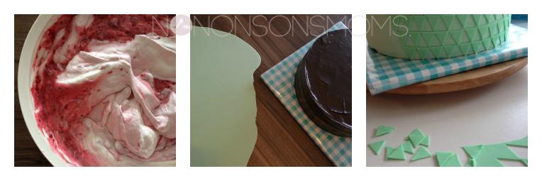 voorbereiding taart S 6jaar