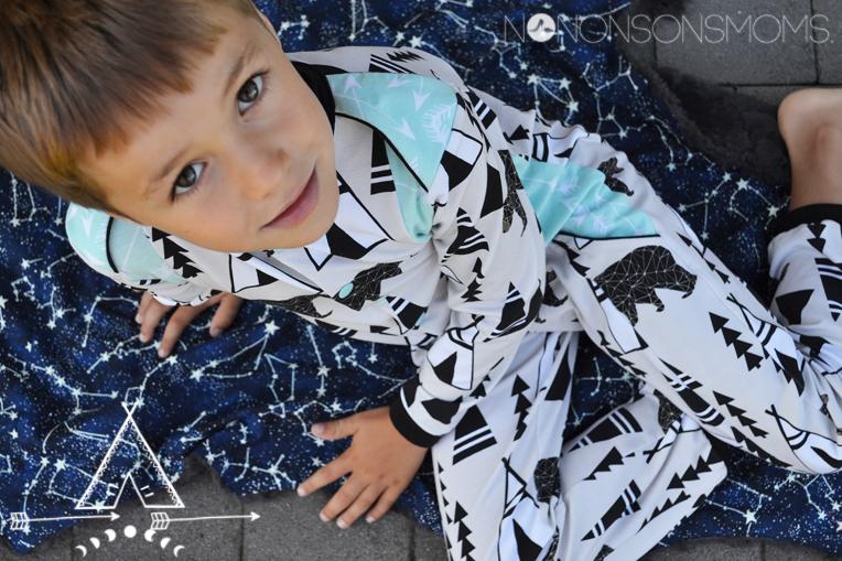 Wolf Zonen 09 pyjama patroon