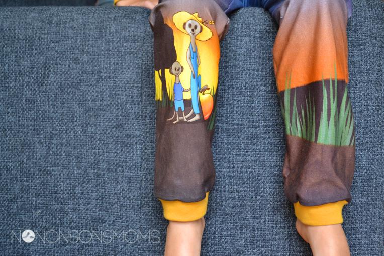 Finch Fabrics stokstaartjes