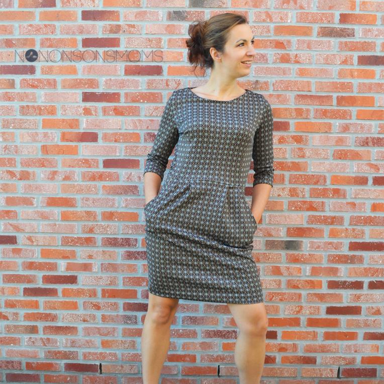 Lora jurk La Maison Victor zonder rits