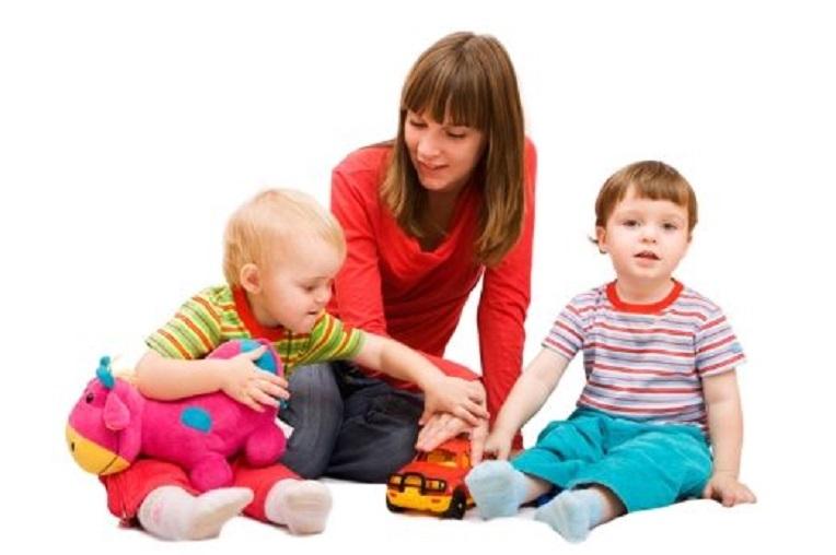babysit op grond -def