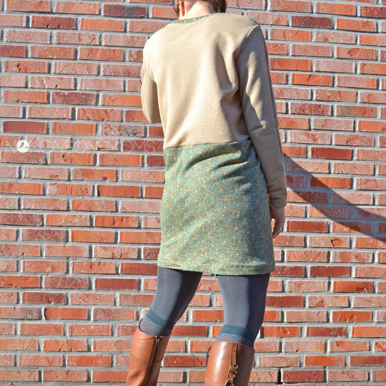 Indigo sweater jurk LMV Remi & Cosette for teens