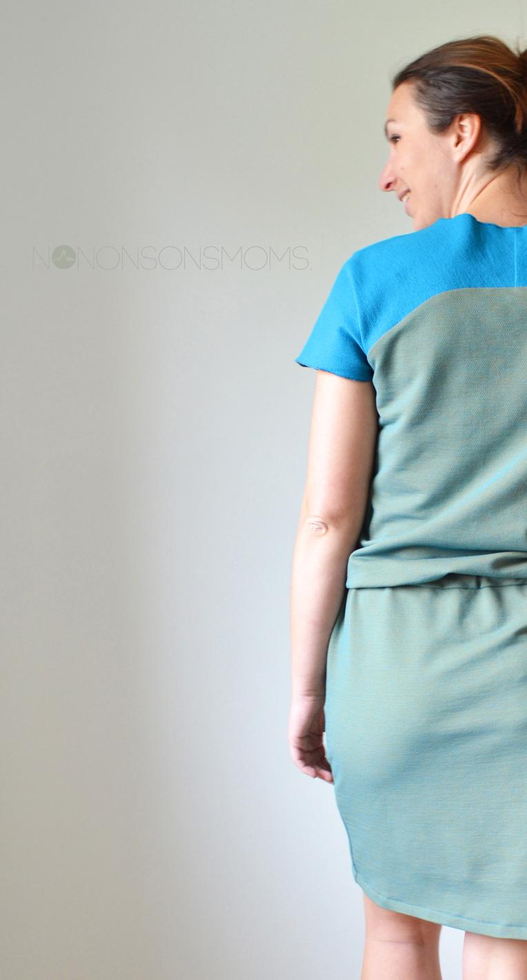 Bethioua Candy jurk Zonen 09 fabric V Blue