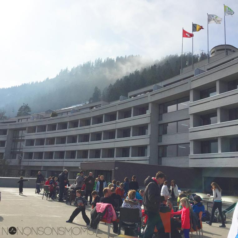 Leysin Intersoc hotel Fabiola