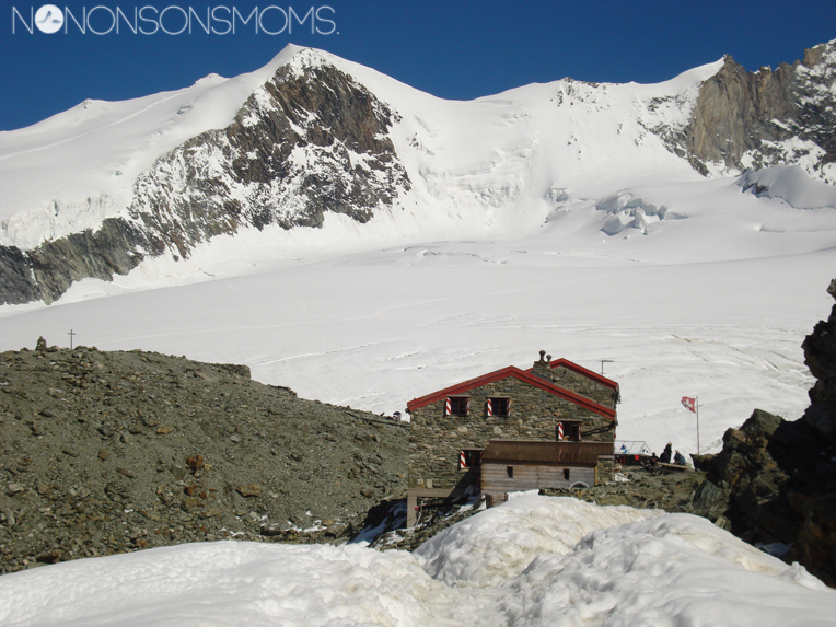 Cabane de Tracuit 3 256m - 2008